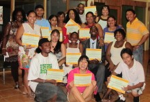 GOJoven Belize Fellows complete a training