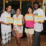 GOJoven Team from Corozal graduates from their first GOJoven training.