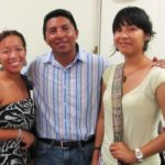 2009 GOJoven Fellow Daisy Magaa, with Training Manager and 2006 Fellow Omar Rodriguez, and 2011 GOJoven Belize Fellow Marla Magaa