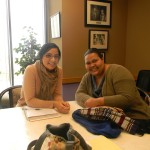 Vanessa Siliezar at U.S. Congresswoman Barbara Lee's office