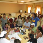 Fellows discuss sexual and reproductive health at the National Meeting in Honduras, October 2012