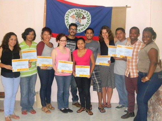 Taller incidencia Belice 2013