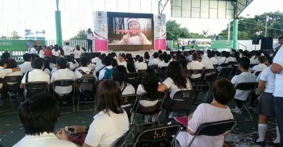 Lanzamiento de la red estatal, durante la semana de juventud en Quintana Roo