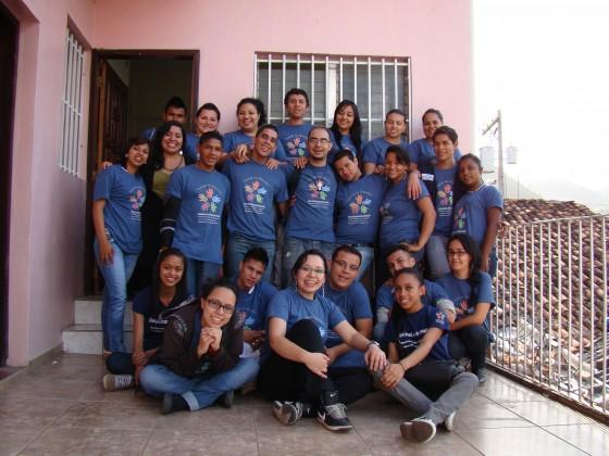 Jóvenes capacitados por GOJoven Honduras