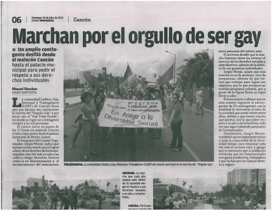 Diario Respuesta newspaper