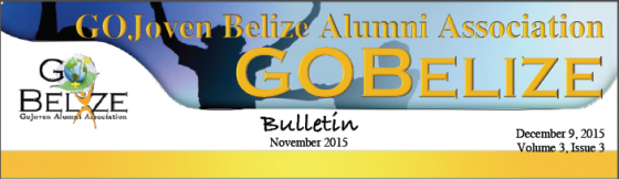 GOBelize Updates – November 2015