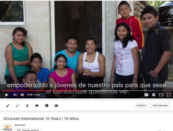 New Video! GOJoven International 10 Years