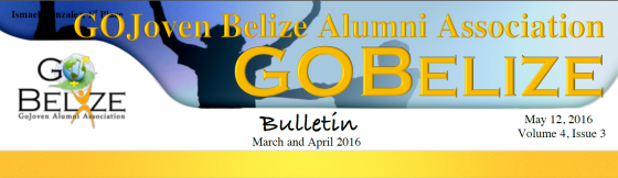 GOBelize Updates – April 2016
