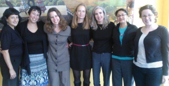 Defensora de Derechos de Mujeres presenta su trabajo en Public Health Institute