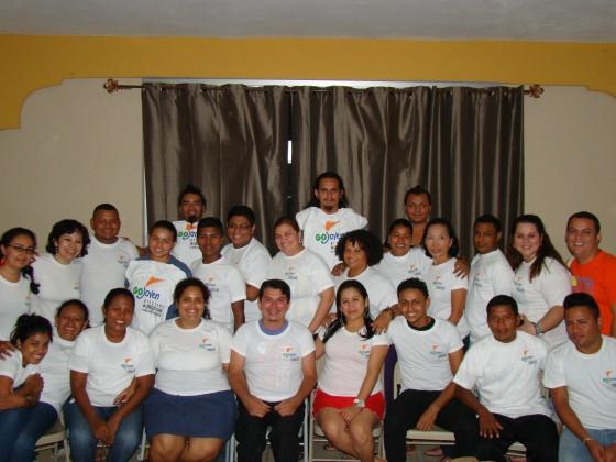 Los Becarios/as de GOJoven Honduras Planean Formar su Propia Asociación no Gubernamental