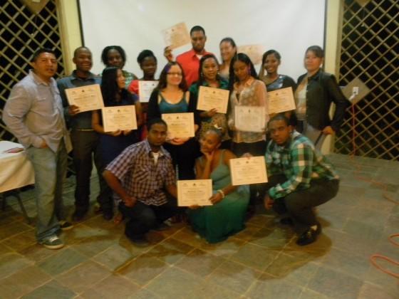 Asociación de Egresado/as de GOJoven Belice crea nuevo liderazgo  juvenil en Belice