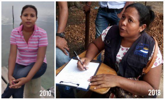 Griselda Martínez, la líder que defiende los derechos de las mujeres en La Mosquitia de Honduras