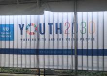 GOJoven Guatemala habla contra el matrimonio infantil durante la semana de la Asamblea General de las Naciones Unidas de 2018